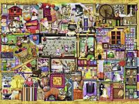 Bastelregal, Colin Thompson. Puzzle 1500-3000 Teile - Produktdetailbild 2