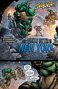 Batman/Teenage Mutant Ninja Turtles: Der Dunkle Ritter in New York - Produktdetailbild 2