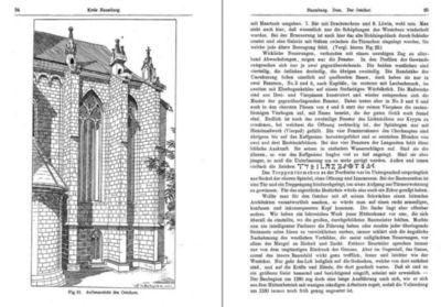 Bau- und Kunstdenkmäler der Stadt NAUMBURG 1903. Buch mit Karte, Dr. Heinrich Bergner