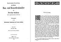 Bau- und Kunstdenkmäler des Kreises CALBE 1885 - Produktdetailbild 1