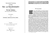 Bau- und Kunstdenkmäler des Kreises ECKARTSBERGA 1883 - Produktdetailbild 1