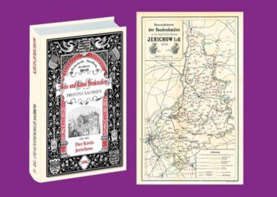 Bau- und Kunstdenkmäler des Kreises JERICHOW 1898. Buch und Karte, Ernst Wernicke