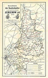 Bau- und Kunstdenkmäler des Kreises JERICHOW 1898. Buch und Karte - Produktdetailbild 1