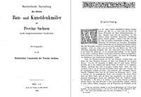Bau- und Kunstdenkmäler des Kreises WEISSENFELS 1880 - Produktdetailbild 3