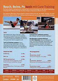 Bauch, Beine, Po - basic mit Core-Training - Produktdetailbild 1