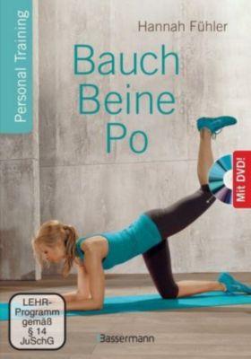 Bauch, Beine, Po, m. DVD - Hannah Fühler  