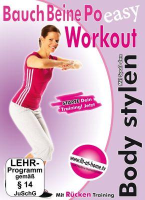 Bauch Beine Po Workout, Wellness