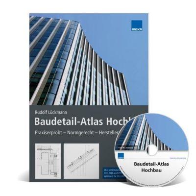 Baudetail-Atlas Hochbau, m. DVD-ROM, Rudolf Lückmann