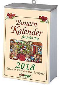 Bauernkalender für jeden Tag 2018 Textabreisskalender - Produktdetailbild 2