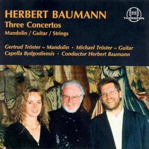Baumann: Drei Konzerte, Michael Tröster