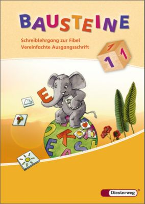 Bausteine Fibel, Ausgabe 2008: Schreiblehrgang zur Fibel, Vereinfachte Ausgangsschrift