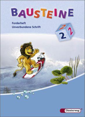 Bausteine Förder- und Forderhefte (2008): 2. Schuljahr, Forderheft Unverbundene Schrift