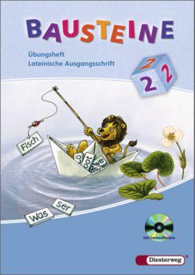 Bausteine Übungshefte, Ausgabe 2008: 2. Schuljahr, Übungsheft Lateinische Ausgangsschrift, m. CD-ROM