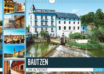 Bautzen Die Altstadt (Wandkalender 2019 DIN A4 quer), Dirk Meutzner