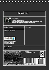 Bayreuth 2019 (Tischkalender 2019 DIN A5 hoch) - Produktdetailbild 13