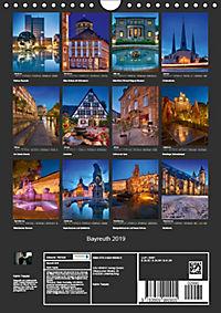 Bayreuth 2019 (Wandkalender 2019 DIN A4 hoch) - Produktdetailbild 13