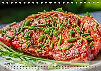 BBQ - Smoker Für Fleisch und Gemüse (Tischkalender 2019 DIN A5 quer) - Produktdetailbild 3