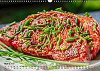 BBQ - Smoker Für Fleisch und Gemüse (Wandkalender 2019 DIN A3 quer) - Produktdetailbild 3
