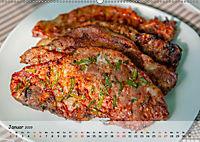 BBQ - Smoker Für Fleisch und Gemüse (Wandkalender 2019 DIN A2 quer) - Produktdetailbild 1