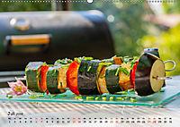 BBQ - Smoker Für Fleisch und Gemüse (Wandkalender 2019 DIN A2 quer) - Produktdetailbild 7