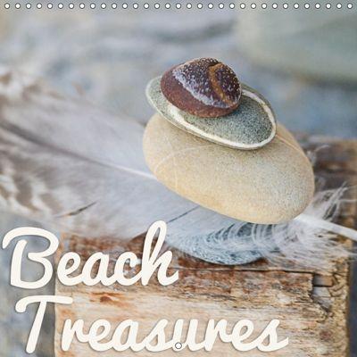 Beach treasures 2019 (Wall Calendar 2019 300 × 300 mm Square), Andrea Haase