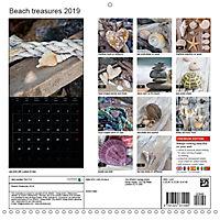Beach treasures 2019 (Wall Calendar 2019 300 × 300 mm Square) - Produktdetailbild 13