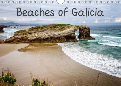 Beaches of Galicia (Wall Calendar 2019 DIN A4 Landscape), Robert Wood
