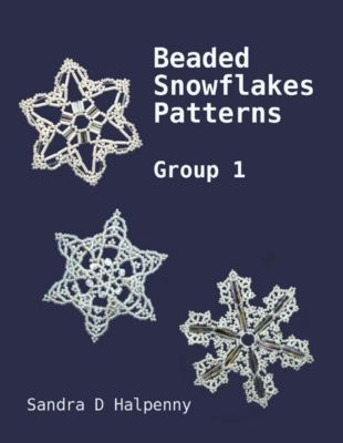 Beaded Snowflake Patterns - Group 1, Sandra D Halpenny