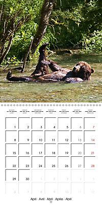 Bears funny moments (Wall Calendar 2019 300 × 300 mm Square) - Produktdetailbild 4