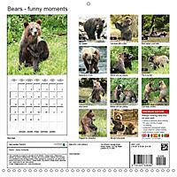 Bears funny moments (Wall Calendar 2019 300 × 300 mm Square) - Produktdetailbild 13