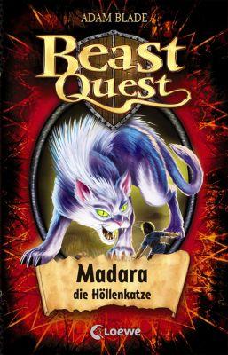 Beast Quest: Beast Quest 40 - Madara, die Höllenkatze, Adam Blade