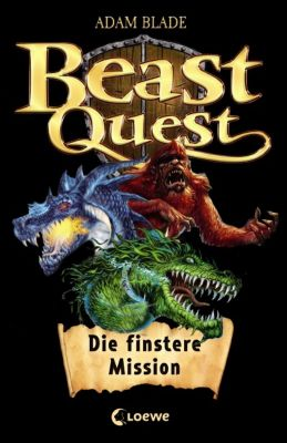 Beast Quest - Die finstere Mission, m. Audio-CD, Adam Blade