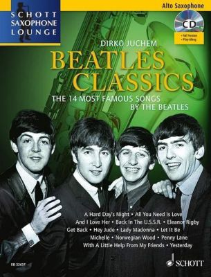 Beatles Classics, Alt-Saxophon, m. Audio-CD