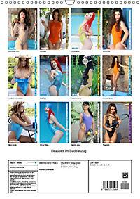 Beauties im Badeanzug (Wandkalender 2019 DIN A3 hoch) - Produktdetailbild 13