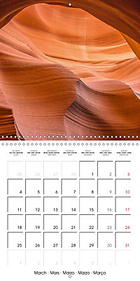 Beautiful Antelope Canyon (Wall Calendar 2019 300 × 300 mm Square) - Produktdetailbild 3