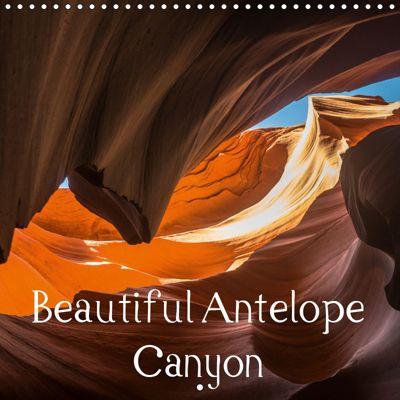 Beautiful Antelope Canyon (Wall Calendar 2019 300 × 300 mm Square), Andrea Potratz