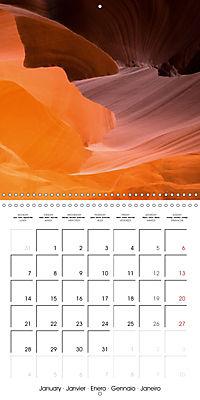 Beautiful Antelope Canyon (Wall Calendar 2019 300 × 300 mm Square) - Produktdetailbild 1