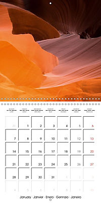 Beautiful Antelope Canyon (Wall Calendar 2019 300 × 300 mm Square) - Produktdetailbild 1