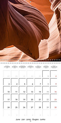 Beautiful Antelope Canyon (Wall Calendar 2019 300 × 300 mm Square) - Produktdetailbild 6