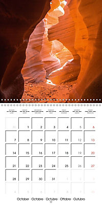 Beautiful Antelope Canyon (Wall Calendar 2019 300 × 300 mm Square) - Produktdetailbild 10