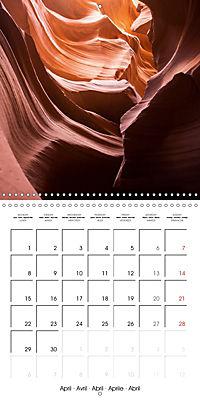 Beautiful Antelope Canyon (Wall Calendar 2019 300 × 300 mm Square) - Produktdetailbild 4