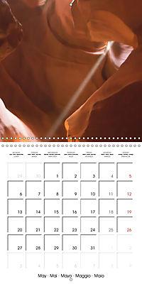 Beautiful Antelope Canyon (Wall Calendar 2019 300 × 300 mm Square) - Produktdetailbild 5