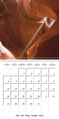 Beautiful Antelope Canyon (Wall Calendar 2019 300 × 300 mm Square) - Produktdetailbild 5