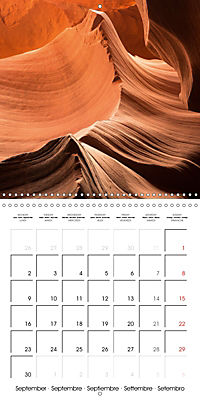 Beautiful Antelope Canyon (Wall Calendar 2019 300 × 300 mm Square) - Produktdetailbild 9