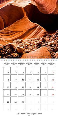 Beautiful Antelope Canyon (Wall Calendar 2019 300 × 300 mm Square) - Produktdetailbild 7