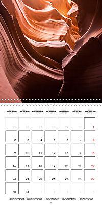 Beautiful Antelope Canyon (Wall Calendar 2019 300 × 300 mm Square) - Produktdetailbild 12