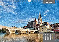 Beautiful Bavaria in Watercolor / UK-Version (Wall Calendar 2019 DIN A4 Landscape) - Produktdetailbild 5