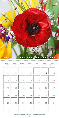 Beautiful Bunches (Wall Calendar 2019 300 × 300 mm Square) - Produktdetailbild 3