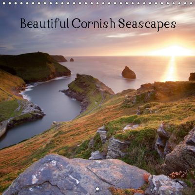 Beautiful Cornish Seascapes (Wall Calendar 2019 300 × 300 mm Square), Peter Lonsdale