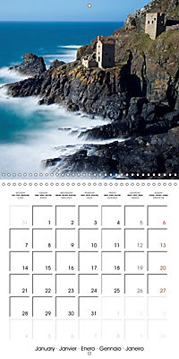 Beautiful Cornish Seascapes (Wall Calendar 2019 300 × 300 mm Square) - Produktdetailbild 1